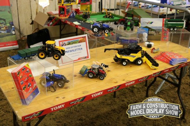 Britains launches new items at Moira Model Show.