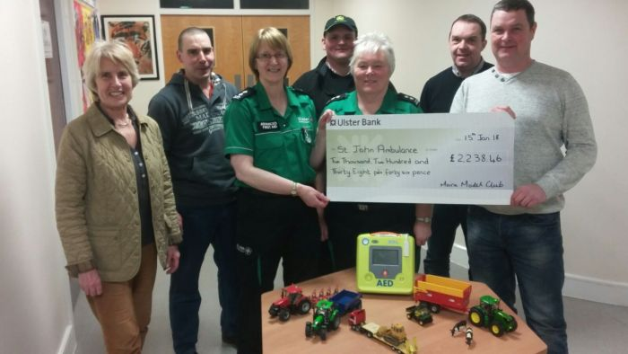 Moira Model Show raises vital funds for St John Ambulance.